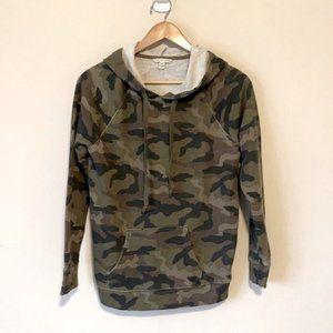 American Eagle Camouflage Hooded Sweatshirt XS